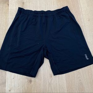 Casall Training Gym Workout Shorts Black size M